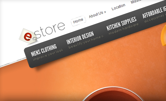 Полная настройка темы wordpress eStore