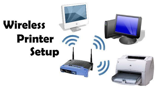 Ручная настройка сетевого принтера WI-FI под Windows