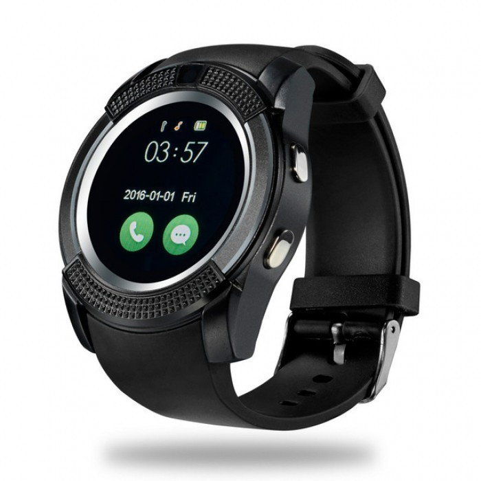 UWatch V8 Black часофон